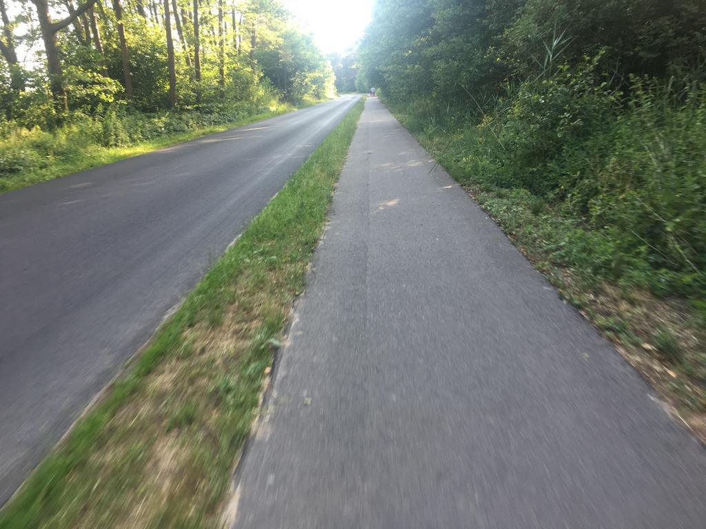 Trasa pomiędzy Łazami, a Mielnem